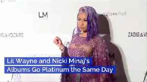 2 Of The Hottest Music Artists Go Platinum The Same Day [Video]