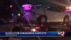 Search on for carjacking suspects in Eatonville [Video]
