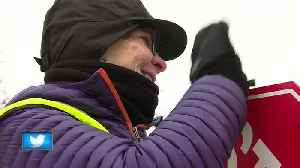 School crossing guards get extra recognition during a special week in Wisconsin [Video]