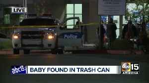 News video: Baby dead after being found in trash can at Amazon distribution center in Phoenix
