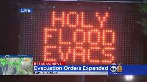 Evacuation Orders Expanded In Holy Fire Burn Area [Video]