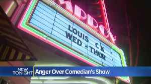 Protesters Angry Over Louis C.K. Show In San Jose [Video]