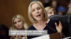 Senator Kirsten Gillibrand Tells Stephen Colbert She Is Running For President [Video]