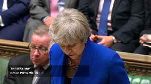 British PM May's government survives no confidence vote [Video]