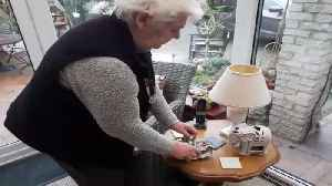 Woman claims to have 75-year-old light bulb [Video]