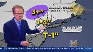 Snow Tonight, Storm This Weekend [Video]