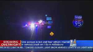 One Dead, Four Hurt In I-95 Two Car Crash In Attleboro [Video]