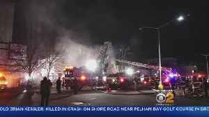 Elderly Woman Killed In Queens Fire [Video]