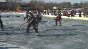 Preview Of The Pond Hockey Championship [Video]