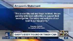 Baby found dead in Amazon trash can [Video]
