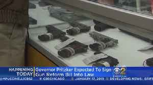 Pritzker To Sign Bill Requiring Licenses For Gun Dealers [Video]