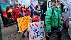 Los Angeles Teacher Strike Reaches Day 4 [Video]