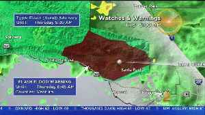 Flash Flood Warning Issued After Heavy Overnight Rainfall [Video]