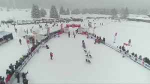Dog sled race kicks off through French Alps [Video]
