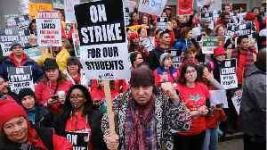 L.A. Teachers And LAUSD: Back At Bargaining Table [Video]