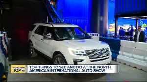 Top things to see and do at the North American International Auto Show [Video]