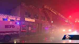 Fire damages recording studio in Westport [Video]