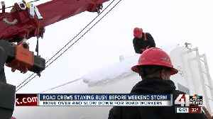 Ahead of incoming snow storm, tow truck companies urge drivers to slow down [Video]