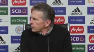 Puel: Don't bet on Rogers [Video]