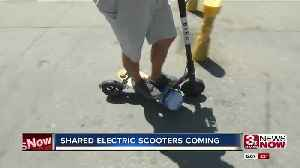 Shared electric scooters coming to Omaha [Video]