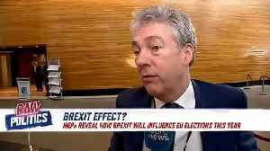 Raw Politics: MEPs discuss how Brexit will influence pending EU elections [Video]