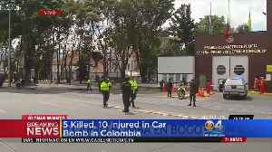 Car Bomb Kills 5 In Colombia