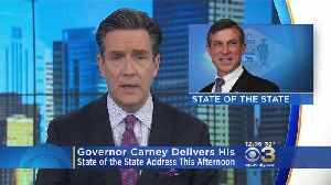 Gov. Carney Delivers His State Of The State Address This Afternoon [Video]