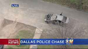 Raw Video: Police Chase Ends With Suspects In Custody [Video]