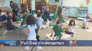 State Board Of Education Weighs In On Polis's Plan For Full-Day Kindergarten [Video]