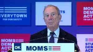 Michael Bloomberg. Moms Demand Action hold gun safety event in Tulsa [Video]