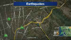 Earthquake Wakes Up Bay Area For 2nd Straight Morning [Video]