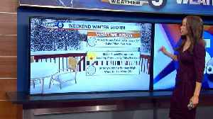 Remeisha Shade gives update on current conditions and weekend weather [Video]