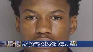 Suspect's Trial In Ofc. Amy Caprio's Death Postponed [Video]