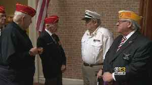 WWII Veterans Awarded Victory Medals 74 Years Later [Video]