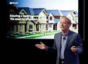 Microsoft President Brad Smith Says Housing Investment Will Help Stop Vitality Drain From Tech Hubs [Video]
