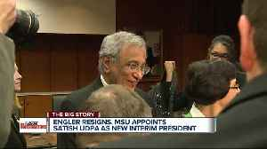 Engler resigns, MSU appoints Satish Udpa as new interim president [Video]