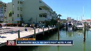 Clearwater Beach residents gear up to fight hotel expansion [Video]