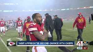 Charcandrick West grateful to be back for Chiefs playoff run [Video]