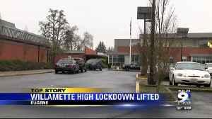 Willamette High School lockdown lifted after potential threat investigated [Video]