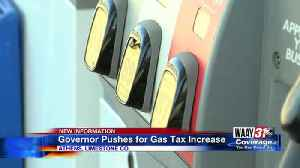Governor Pushes for Gas Tax Increase [Video]