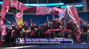 KHSAA makes huge football playoff and softball changes [Video]