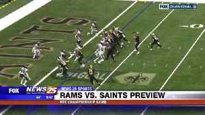 News video: Rams vs. Saints preview