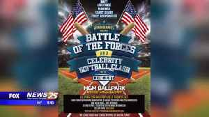 Battle of the Forces: Celebrity Softball Game [Video]