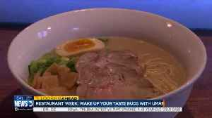 Umami Restaurant Week preview [Video]