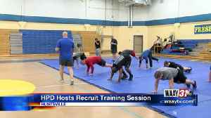 HPD Recruit Training Session [Video]
