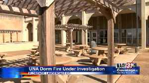 UNA Dorm Fire [Video]