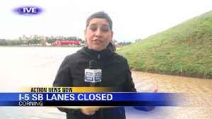 Southbound Lanes Closed on I-5 [Video]
