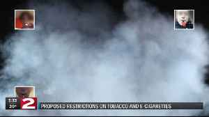 Proposed restrictions on tobacco and e-cigarettes [Video]