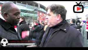 Black Scarf Movement March - Interview With Arsenal Fans -Arsenalfantv.com [Video]