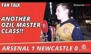 Another Ozil Master Class!! | Arsenal 1 Newcastle 0 [Video]